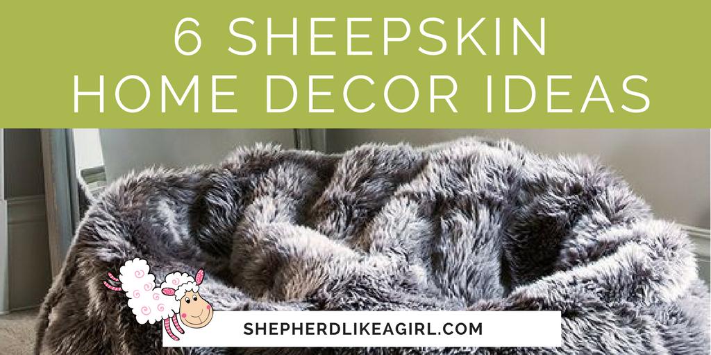 6 sheepskin home decor ideas copia cove icelandic sheep for Home decor survivor 6