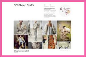 DIY Sheep Crafts | Pinterest | Shepherd Like A Girl