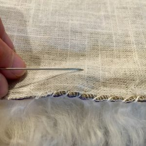Make Your Own Sheepskin Pillow Tutorial | Shepherd Like A Girl