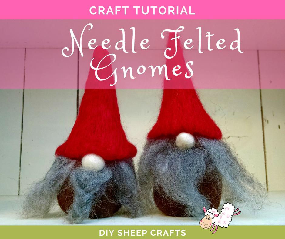 Free Felt Christmas Gnome Pattern.How To Needle Felt A Gnome Amika Ryan Shepherd Like A Girl