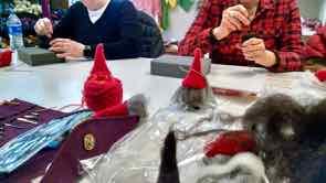 DIY Sheep Crafts   How to Needle Felt a Gnome   Shepherd Like A Girl
