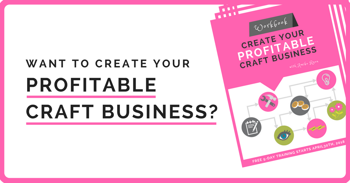 Want to create your profitable craft business fb ad 1 for Profitable crafts